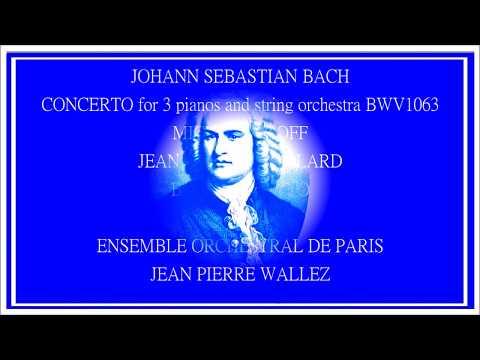 J.S. BACH Concerto for 3 pianos BWV 1063 3. Allegro mp3