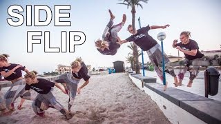 Side Flip | Tutorial | Freerunning