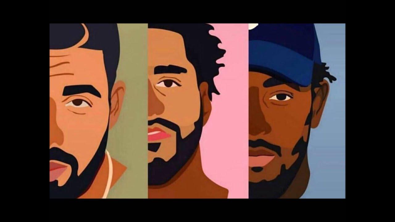 J Cole Eyebrows Vs Drakes Drake X J.Cole ...