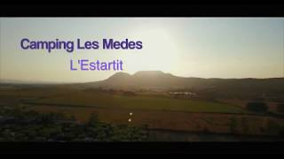 Drone flight over Camping Les Medes @ Estartit, Girona, Spain