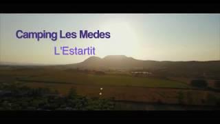 Drone flight over Camping Les Medes @ Estartit, Girona, Spain