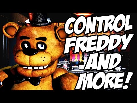 CONTROL THE ANIMATRONICS! | Fazbear Studio #2 (FNAF Night Creator!)