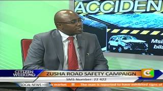 Zusha Road Safety Campaign with Mathew Munyao