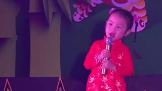Ca sĩ nhí Lê Bảo Trân Gọi Trăng Là Gì