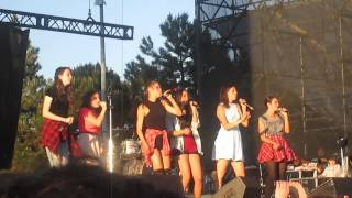 Party in The USA- Cimorelli cover (DigiFest Toronto 2014)