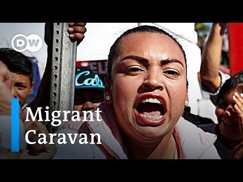 Migrant Caravan: Tensions rise in Tijuana | DW News