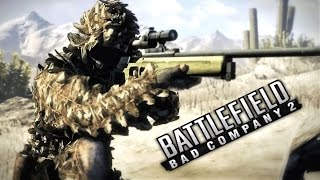 Battlefield Bad Company 2 Sniper Mission Gameplay