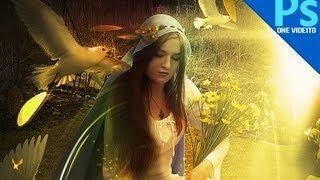 Tutorial Photoshop: Fantasia y Luces by onevideito