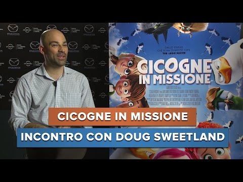 CICOGNE IN MISSIONE - Incontro con Doug Sweetland | #Intervista