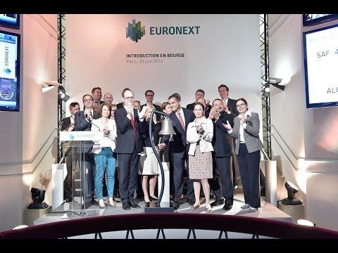 Euronext s'introduit en bourse! À Paris, Amsterdam et Bruxelles, le 20 juin 2014