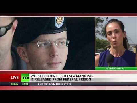 Longest-Serving Whistleblower Chelsea Manning Released From Military Prison