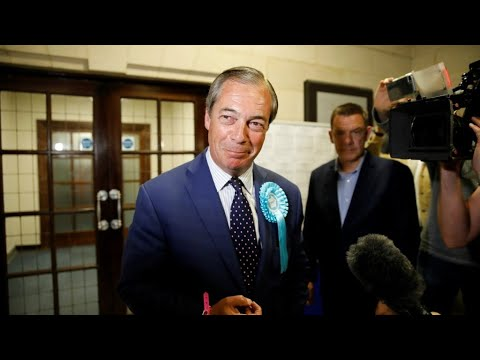 In UK, Farage's Brexit party storms to EU election victory