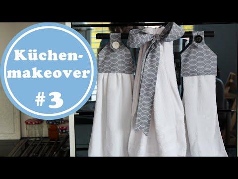 Handtücher – Küchenmakeover 3 | mit Schnittmuster gratis | Küchenideen | Küchenplanung
