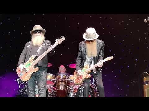 ZZ Top 50th Anniversary  SSE Wembley Arena London 12/07/2019