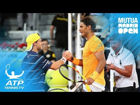 Nadal breaks set record; Lajovic stuns Del Potro | Madrid 2018 Highlights Day 5