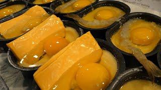 갓구운 치즈계란빵, 새우계란빵 - 대학로 / egg bread with cheese - korean street food