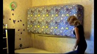 Двухъярусная кровать WB T900 - кровать трансформер, кровать-стена(Двухъярусная кровать-стена с положением для сна вдоль стены. Металлический каркас, чехол - ткань с термопеч..., 2016-11-06T09:36:07.000Z)