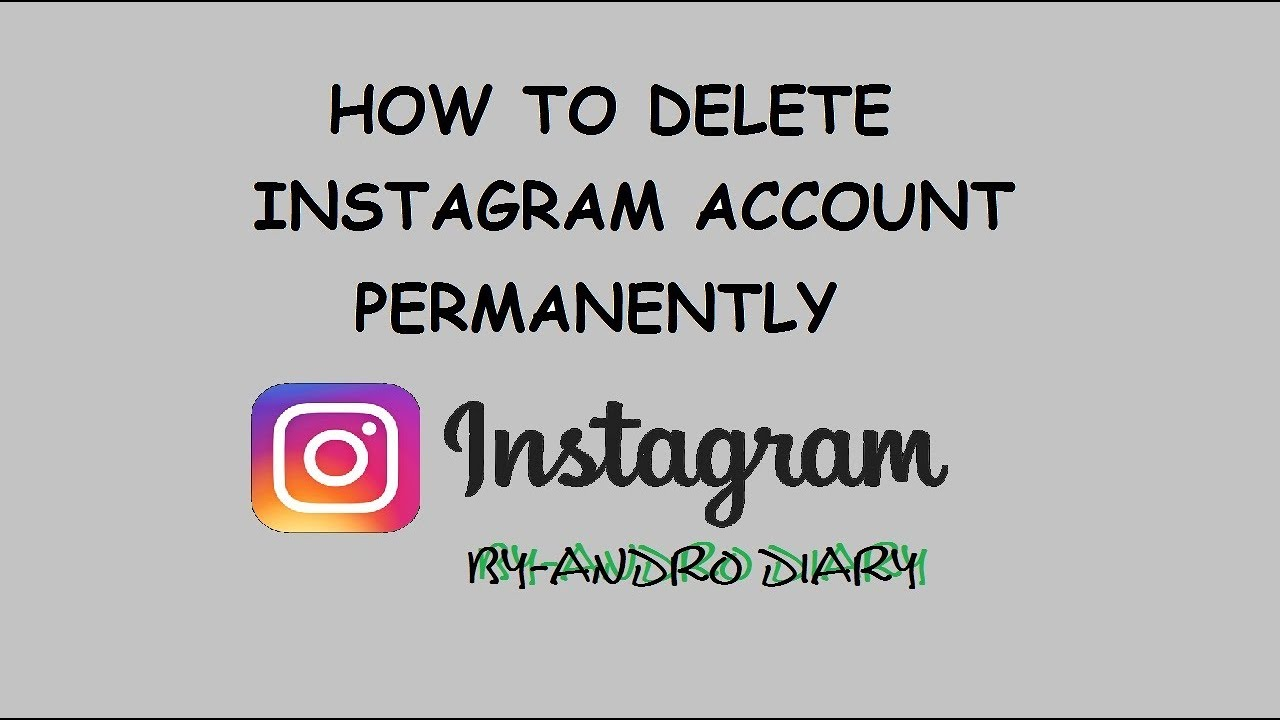 Permanently deleted instagrams account youtube permanently deleted instagrams account ccuart Gallery