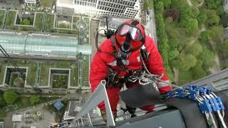 Frankfurter Feuerwehr - Einsatz der Höhenrettung