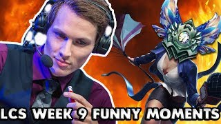 LCS WEEK 9 FUNNY/FAIL MOMENTS - 2017 Summer Split