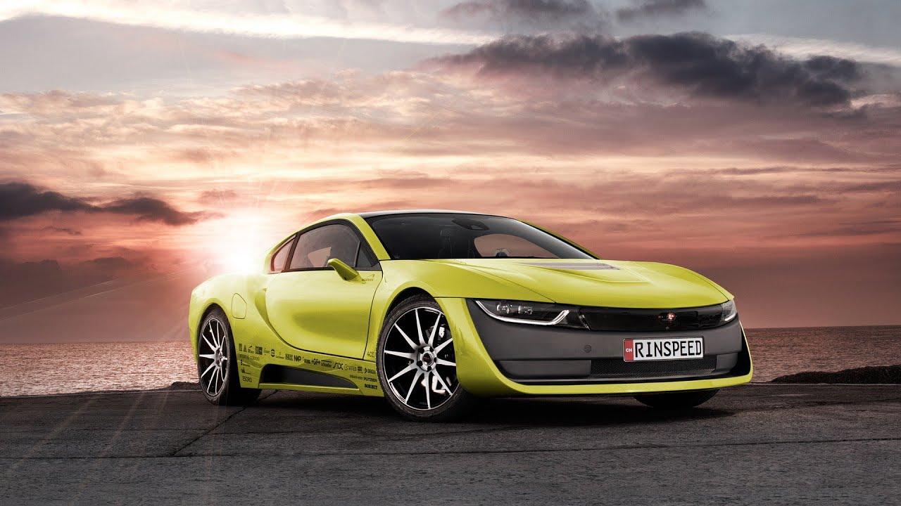I8 Exterior: 2016 Rinspeed Etos Based On BMW I8 Interior And Exterior