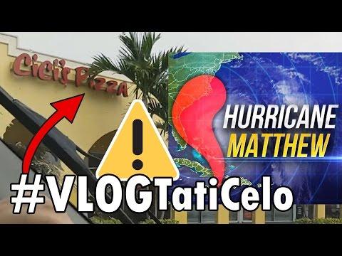 ⚠#VlogFURACÃO 4: NÃO ACREDITO QUE SAIMOS PRA COMER NO FURACÃO   HURRICANE MATTHEW