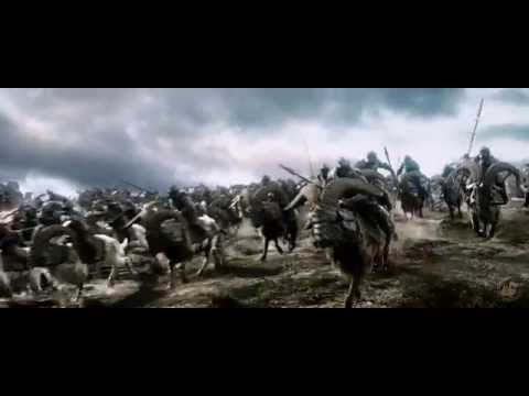 4K Movie Trailer  The Hobbit  The Battle of the Five Armies Official 4K UHD Trailer Poster