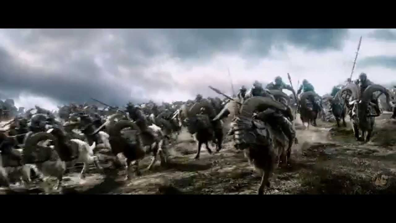 4K Movie Trailer: The Hobbit The Battle of the Five Armies Official 4K UHD  Trailer