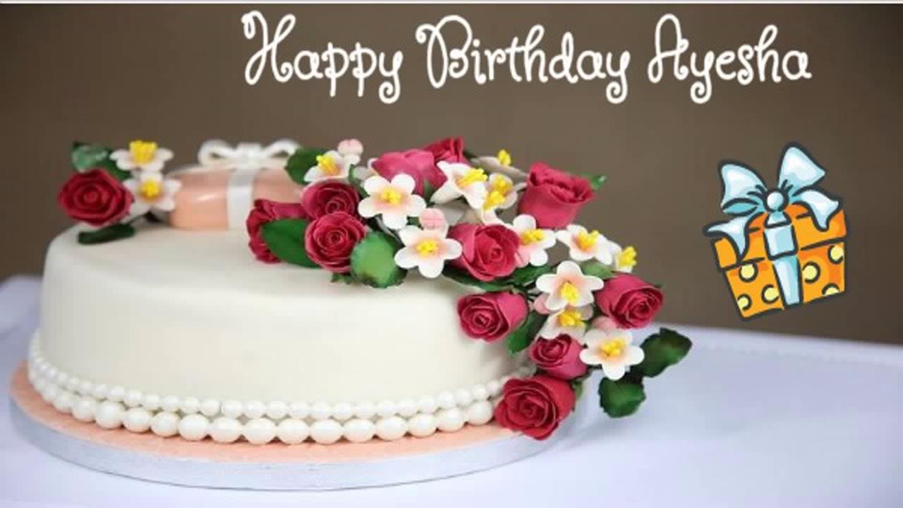 Happy Birthday Ayesha Image Wishes Youtube