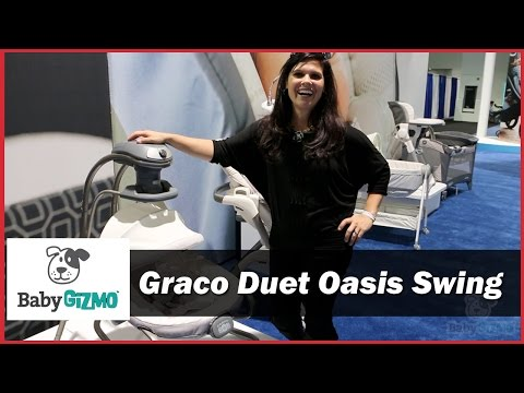 Graco Duet Oasis Baby Swing With Soothe Surround Demo By Baby Gizmo