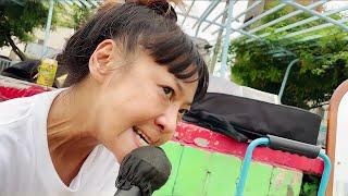 満州けい子 西成あいりん地区のヤ○ザに歌う応援歌