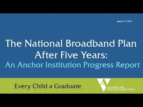 The National Broadband Plan After Five Years:An Anchor Institution Progress Report