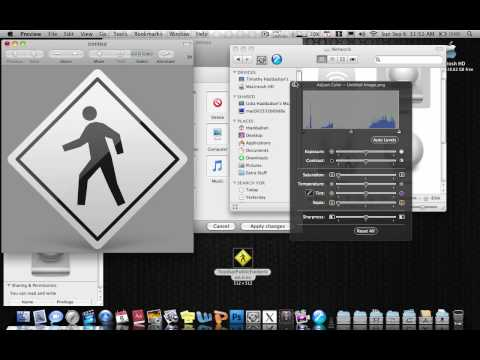 how to change mac icons snow leopard