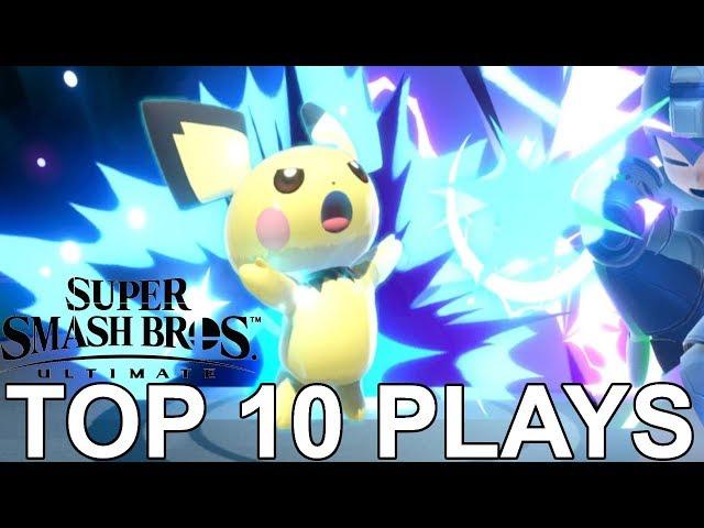 Top 10 HYPE Pichu Plays #1 - Super Smash Bros Ultimate (SSBU) | EMG