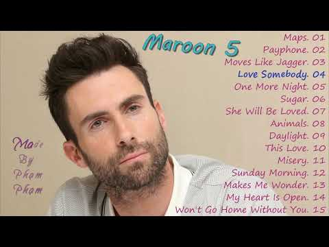 Maroon 5 - The Best Songs 2019