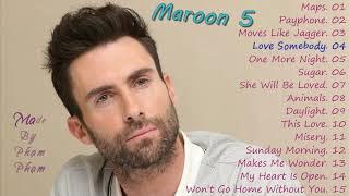 Maroon 5 - The Best Songs 2019