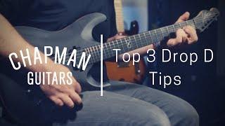 rabea massaad's top 3 drop d tips - chapman guitars