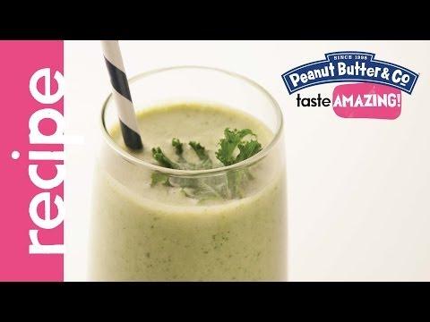 Peanut Butter & Kale Smoothie recipe