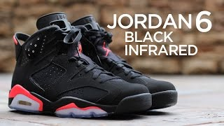 Closer Look: Air Jordan 6 Retro - Black/Infrared