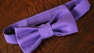 Как сшить галстук бабочку для Вашего малыша(Видео урок, как сшить детский галстук на Вашего малыша. Смотрите больше - http://portnoyy.justclick.ru/ - Cамый подробный..., 2013-04-23T11:24:58.000Z)