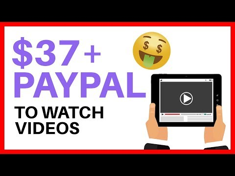 Make Money Online WATCHING VIDEOS $$$ - *Earn Paypal Money*