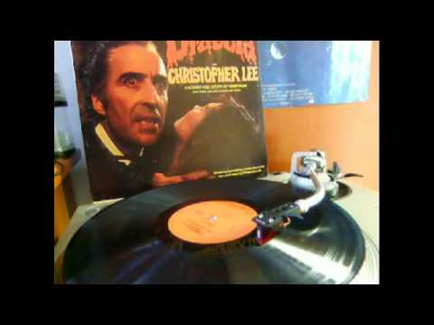 Hammer Presents Dracula, Narrated by Sir Christopher Lee Full LP