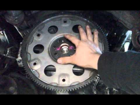 Toyota Fly wheel install  YouTube
