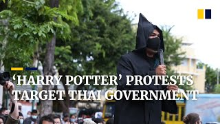 'Harry Potter' themed protests in Thailand 'cast a spell' for democracy