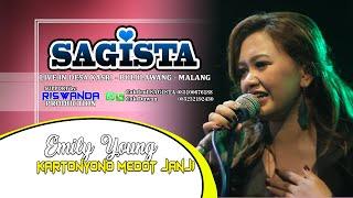 Download Mp3 Fdj Emily Young Feat Bolang - Kartonyono Medot Janji, Om.sagista Live Malang