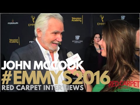 John McCook interviewed at the Stars of Daytime TV Celebrate Emmy Season Event #Emmys