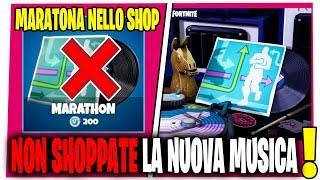 NUOVA MUSICA MARATONA NEL NEGOZIO OGGETTI FORTNITE SHOP 15 APRILE