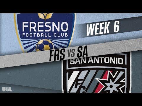 Fresno FC vs San Antonio FC: April 22, 2018