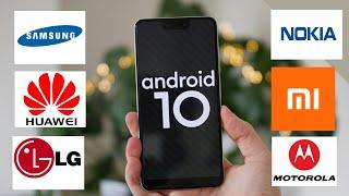 ANDROİD 10 GÜNCELLEMESİ ALACAK TELEFONLAR (2020)