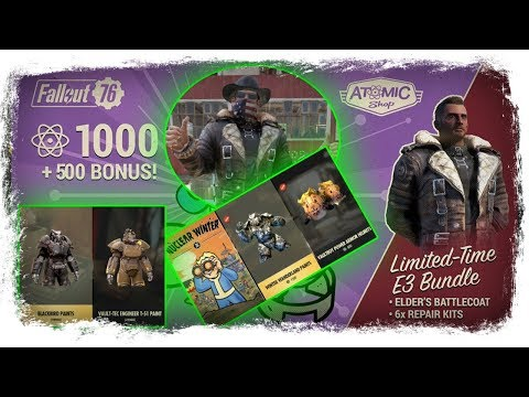Repeat Fallout 76 Atom Shop Today - Stalker Outfit, Bandana